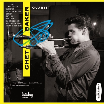 chet baker quartet - same (33rpm lp)