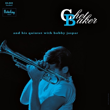 chet baker and his quintet - with bobby jaspar (33rpm lp)