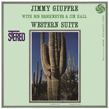 jimmy giuffre – western suite (33rpm lp)