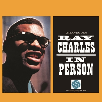 ray charles - in person (33rpm lp)