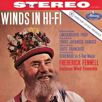 fennell - winds in hi-fi (33rpm lp)
