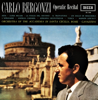 carlo bergonzi - operatic recital (33rpm lp)