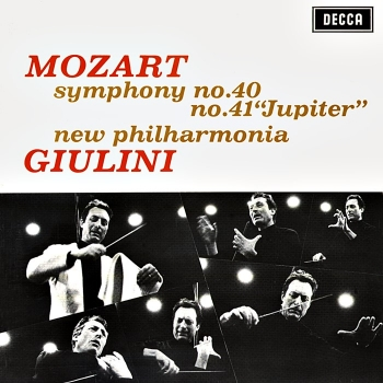 "mozart - symphony no. 40 & 41 ""jupiter"" (33rpm lp)"