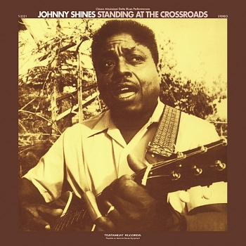 johnny shines - standing at the crossroads (33rpm lp)