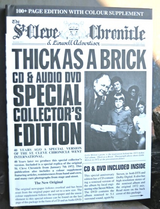 jethro tull – thick as a brick 40th anniversary set (cd + dvd)