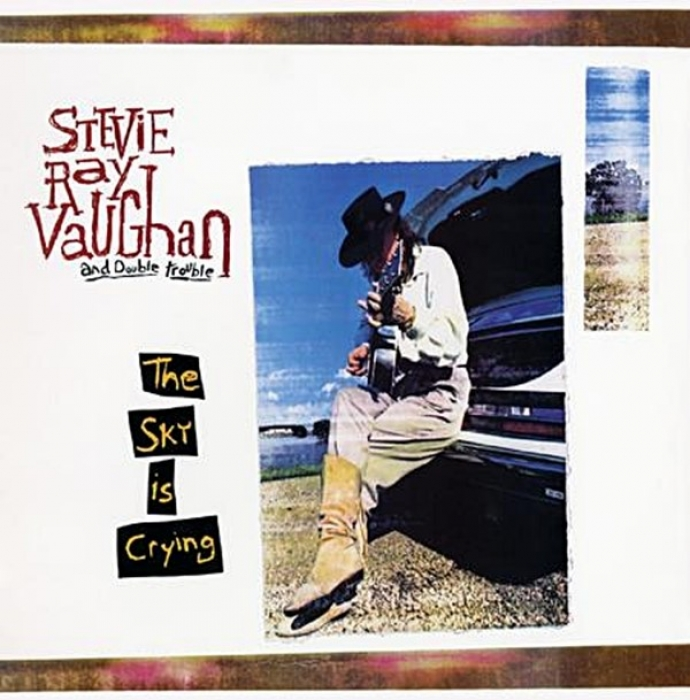 stevie ray vaughan – the sky is crying (33rpm lp)
