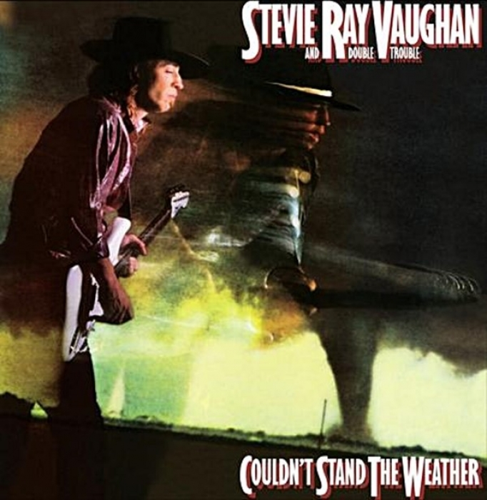 stevie ray vaughan - couldn't stand the weather (2 x 45rpm lp)
