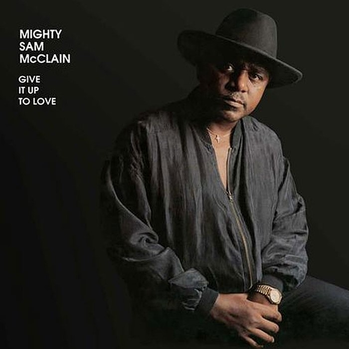 mighty sam mcclain - give it up to love (2 x 45rpm lp)