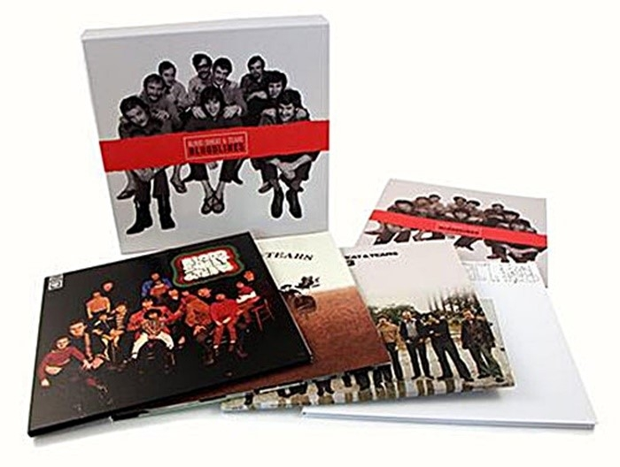 blood, sweat & tears - bloodlines (4 x 33rpm lp box)