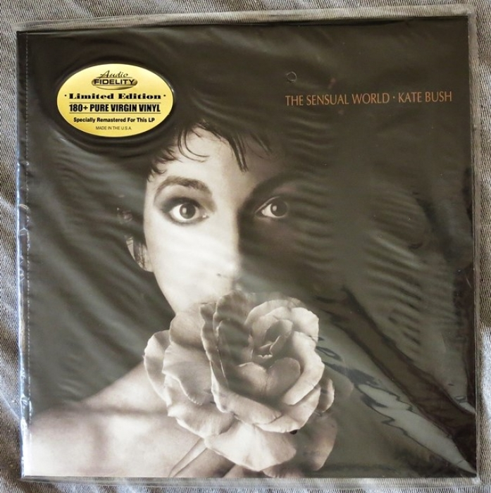 kate bush - the sensual world (33rpm lp)