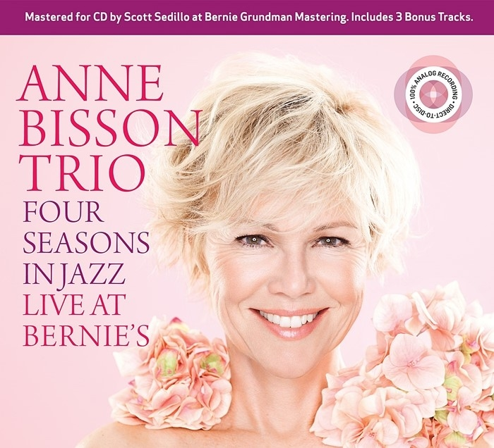 anne bisson trio - four seasons in jazz: live at bernie's (cd d2d)