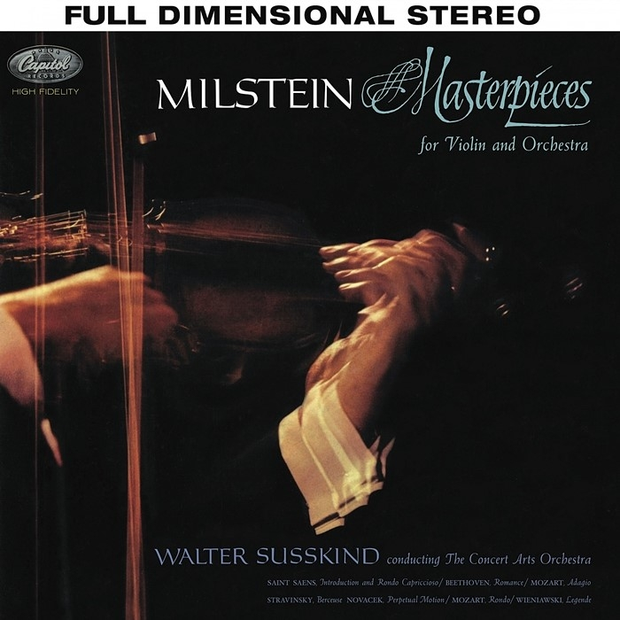 nathan milstein - masterpieces for violin and orchestra (hybrid sacd)