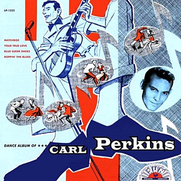 carl perkins - dance album (33rpm lp)