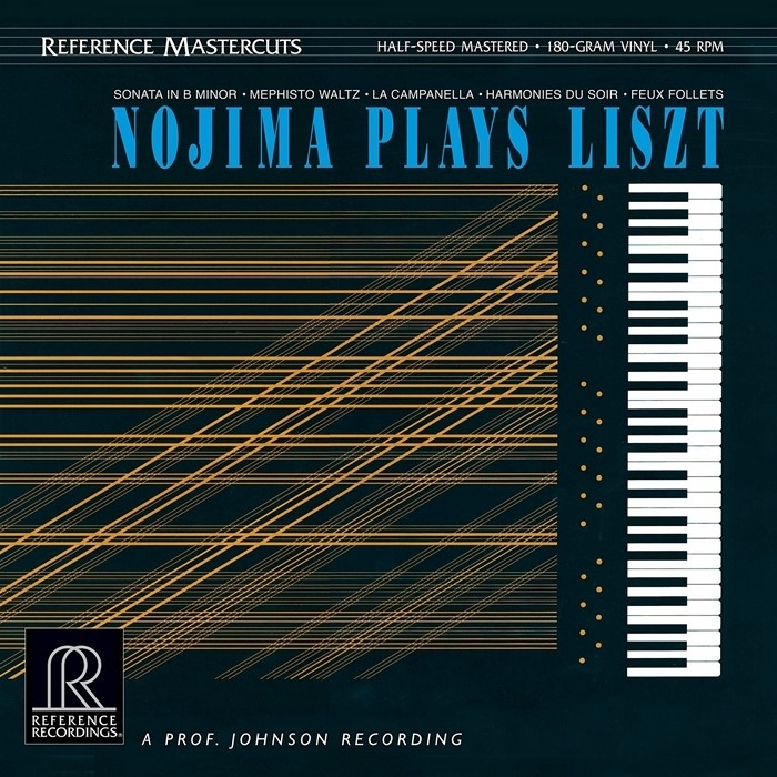 nojima - plays liszt (2 x 45rpm lp halfspeed)