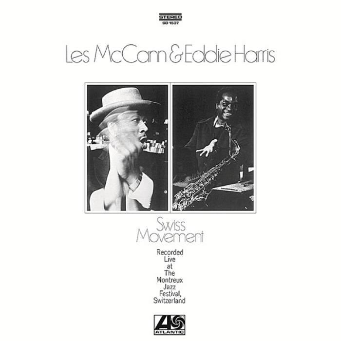 les mccann & eddie harris - swiss movement (33rpm lp)