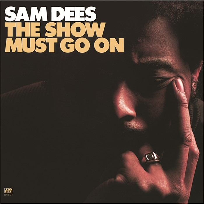 sam dees - the show must go on (33rpm lp)