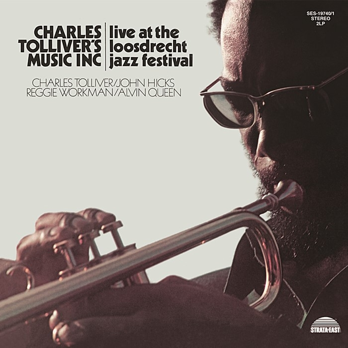 charles tolliver - live at the loosdrecht jazz festival (2 x 33rpm lp)