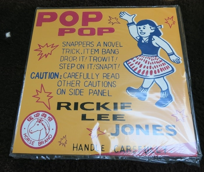 rickie lee jones – pop pop (33rpm lp)