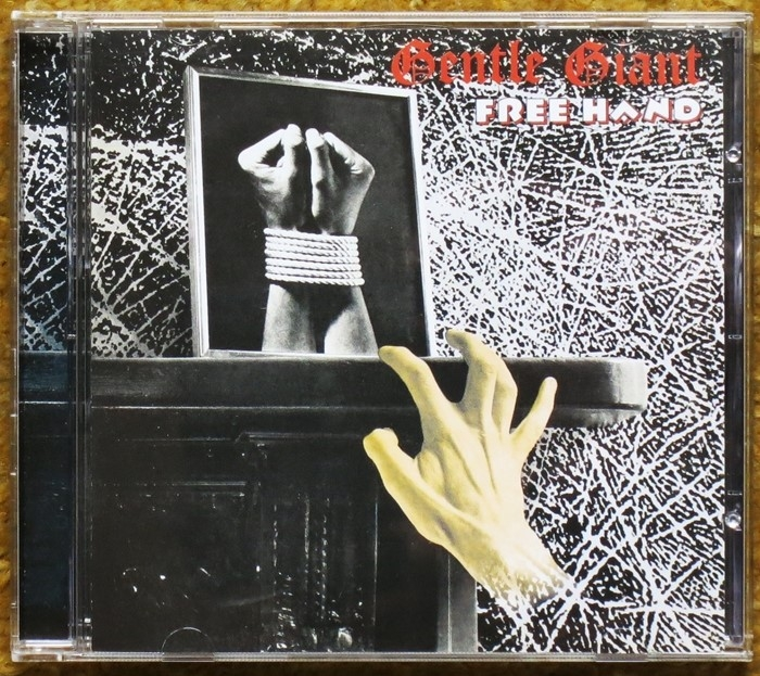 gentle giant - free hand (cd)