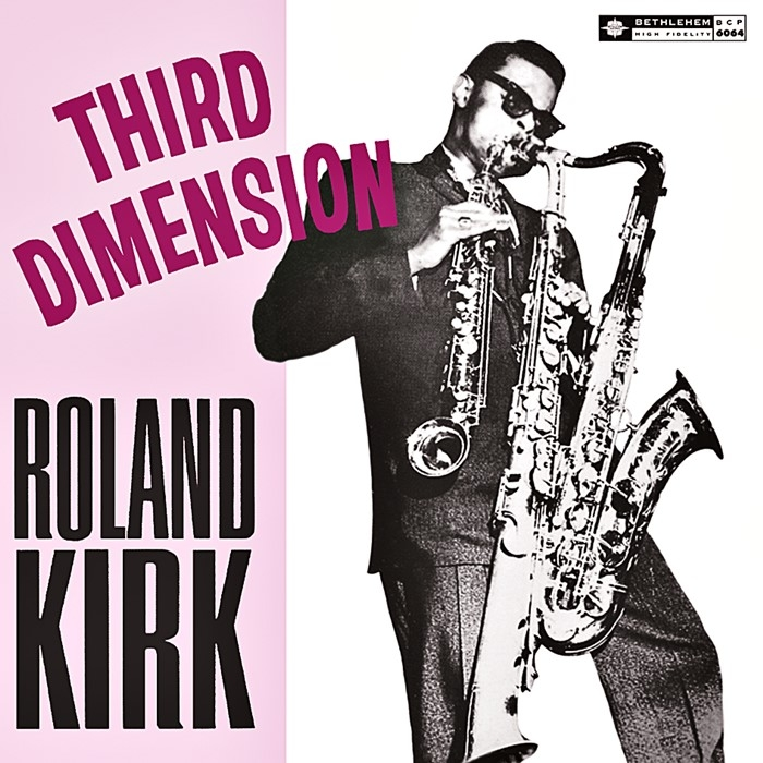 roland kirk – third dimension (33rpm lp)