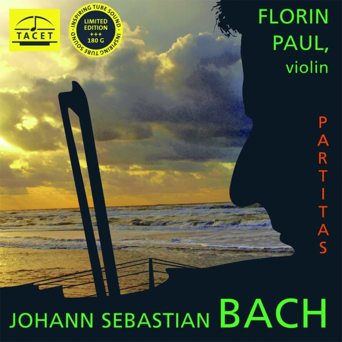 bach – partitas no. 1 & 2 for solo violin (33rpm lp)