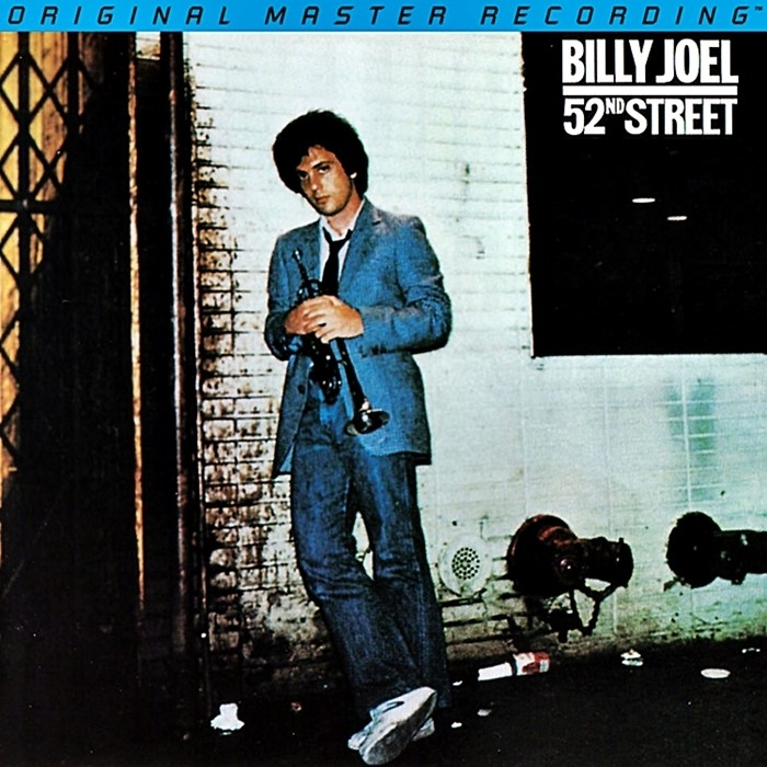 billy joel – 52nd street (2 x 45rpm lp halfspeed)