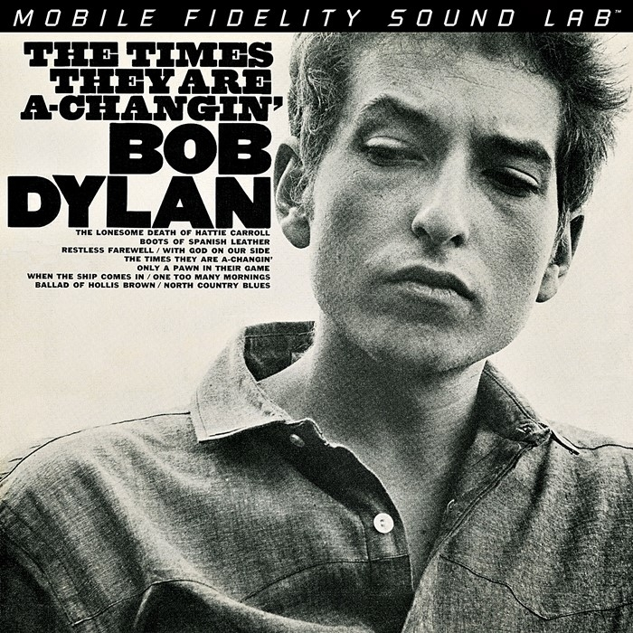 bob dylan – the times they are a-changin' (2 x 33rpm lp halfspeed)