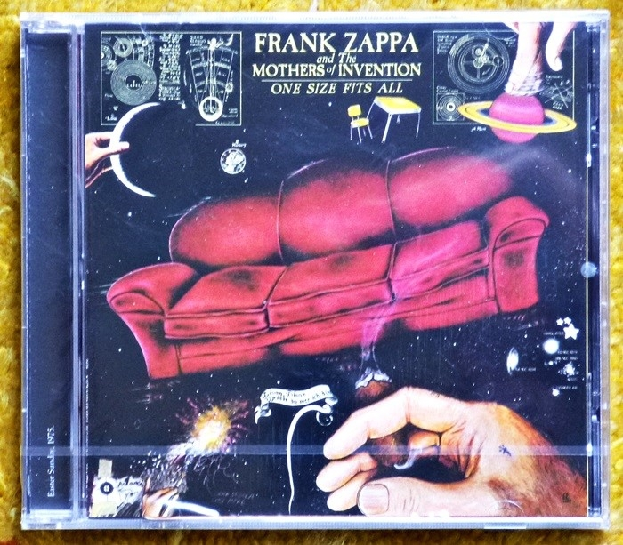 frank zappa & the mothers of invention – one size fits all (cd)