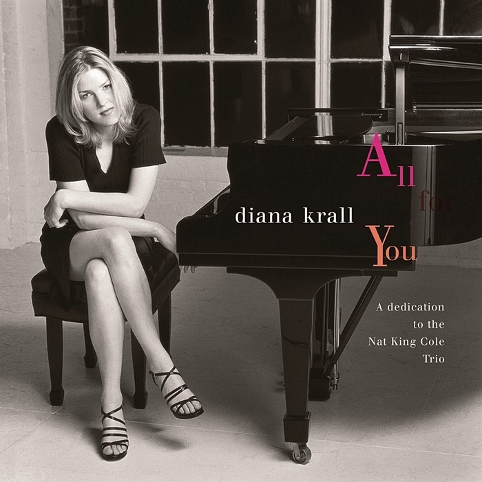 diana krall - all for you (2 x 45rpm lp)