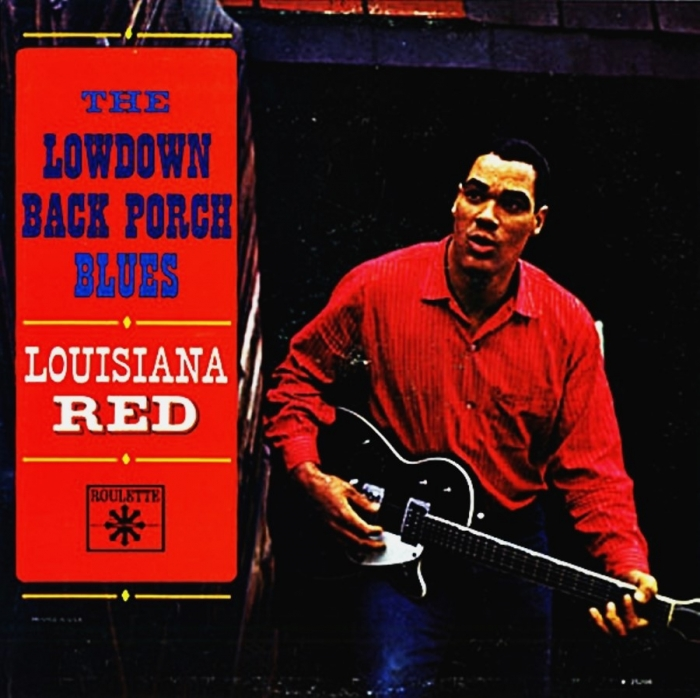 louisiana red – the lowdown back porch blues (33rpm lp)
