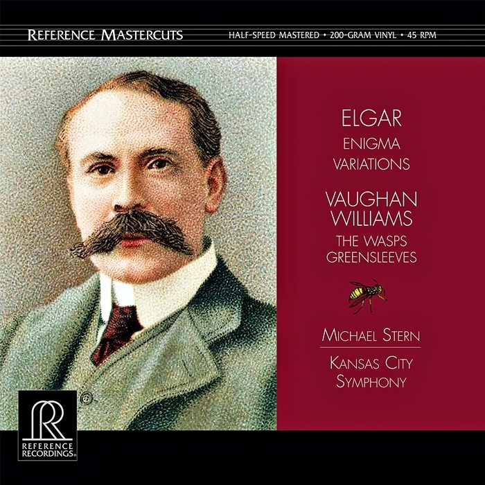 elgar / williams – enigma variations / the wasp (2 x 45rpm lp halfspeed)