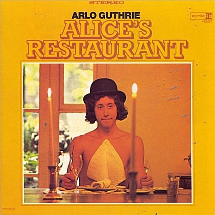 arlo guthrie - alice's restaurant (33rpm lp)