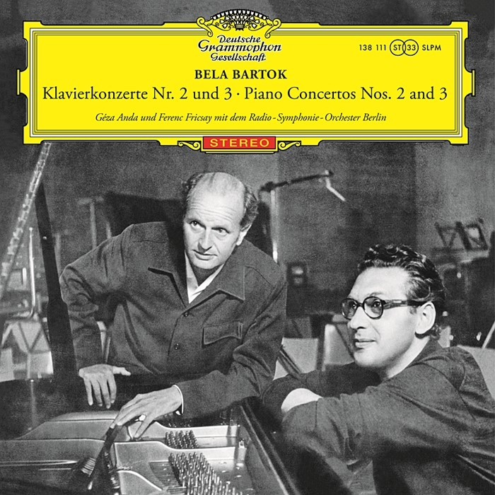 bartok – piano concertos nos. 2 and 3  (33rpm lp)
