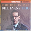 bill evans trio - portrait in jazz (33rpm lp)